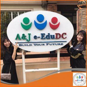 Logo trường A&J
