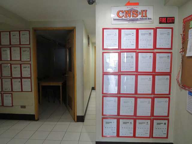 bảng thành tích trường CNS2 Baguio Philippines