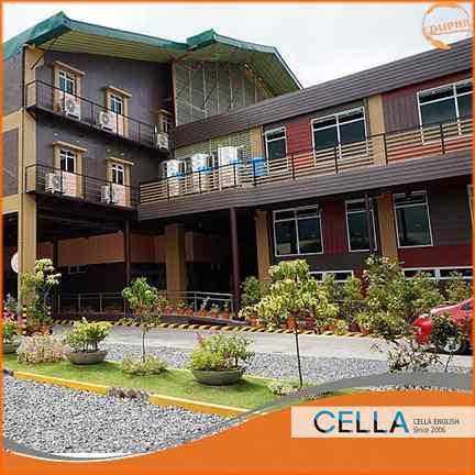 khóa học tiếng Anh tại Philippines trường cella