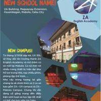 Kế hoạch đổi tên trường Anh ngữ UV ESL