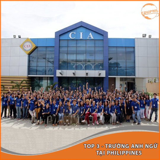 Trường Anh ngữ CIA – TOP 03 Trường Anh Ngữ Tại Philippines