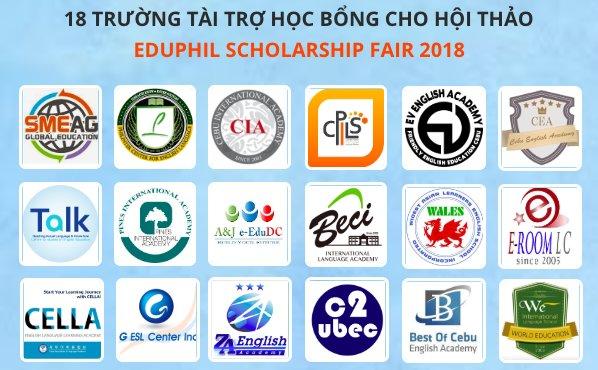 18 trường Anh ngữ tài trợ học bổng cho hội thảo