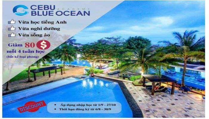 gói khuyến mãi của Cebu Blue Ocean