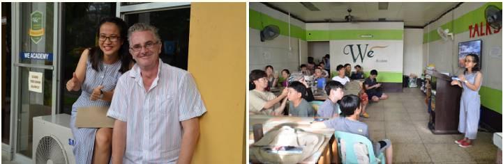 câu chuyện học viên Thu Hằng học tại trường We Academy
