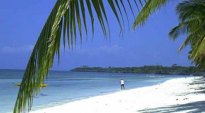 du lịch biển ở Philippines hòn đảo siquijor