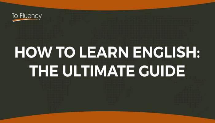 làm thế nào nói tiếng Anh lưu loát trong thời gian ngắn