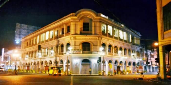 đài phun nước tại thành phố ILOILO Philippines