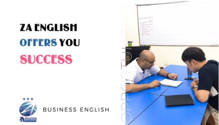 Business English tại ZA English