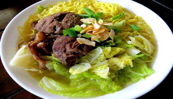 ẩm thực Philippines mì mami