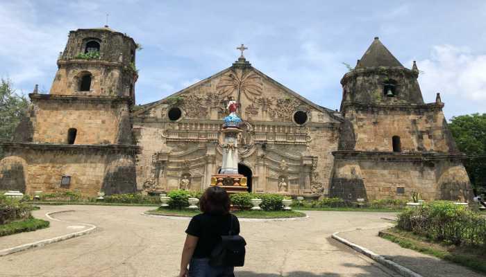 nahf thời lớn baroque miagao tại thành phố ILOILO Philippines