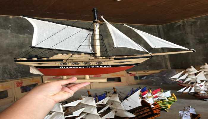 thuyền handmade được bán ở thành phố ILOILO Philippines