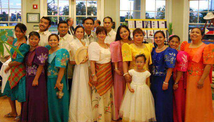 nét đẹp trang phục truyền thống Philippines