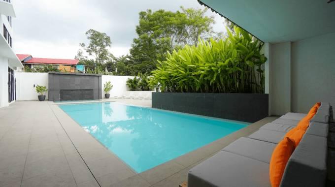 những trường có bể bơi đẹp ở Cebu là trường nào