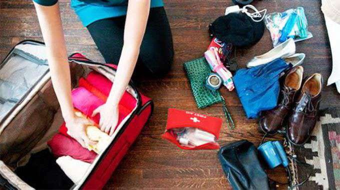sắp xếp đồ dùng cần thiết du học Philippines