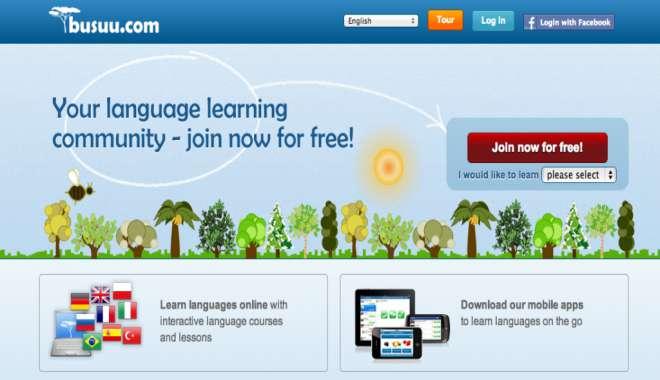 học tiếng Anh miễn phí trên mạng với Busuu