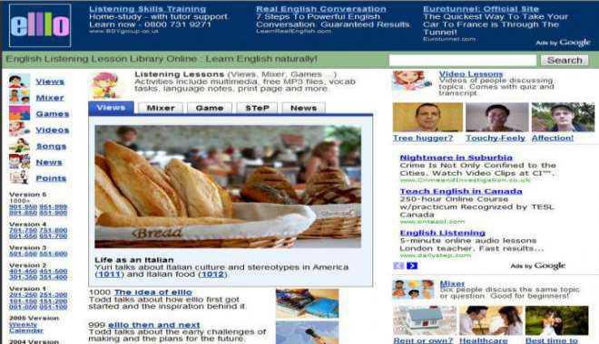 lựa chọn web học tiếng Anh miễn phí trên mạng