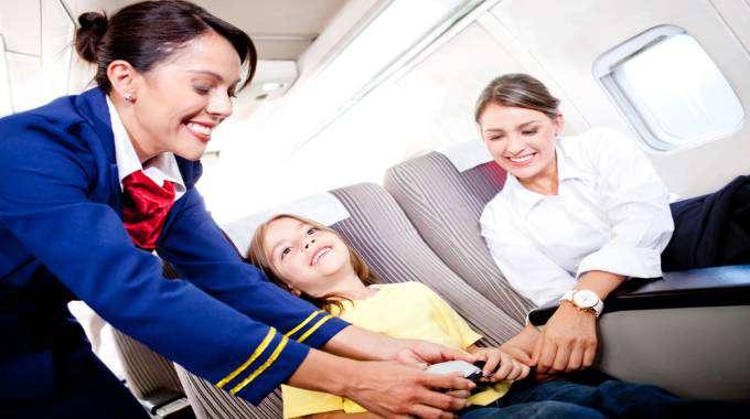 những câu nói tiếng Anh thông dụng trên máy bay