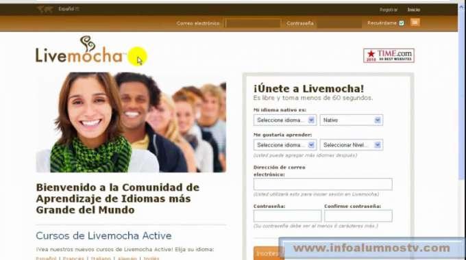 trang web học tiếng Anh miễn phí trên mạng livemocha