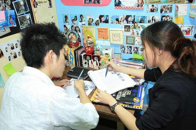 lớp học 1 kèm 1 tại philippines