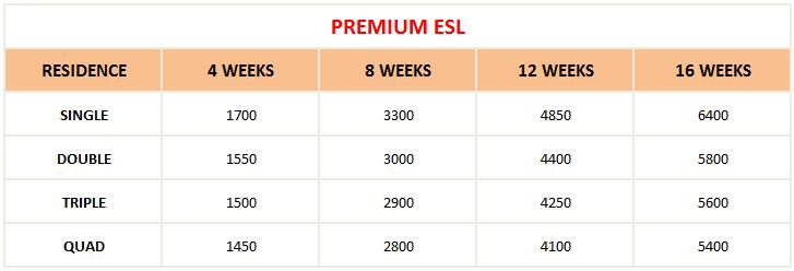 hoc phi khoa premium ESL
