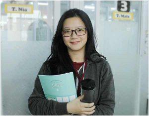 Ngày đầu tiên đến trường –  học viên Rubi trường Anh ngữ WALES