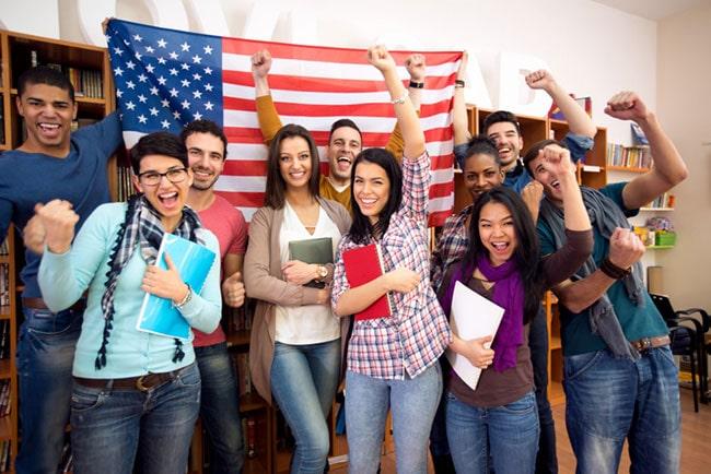 du học tiếng Anh ngắn hạn Mỹ