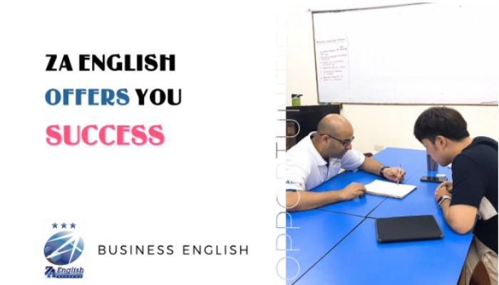 Business English tại ZA English