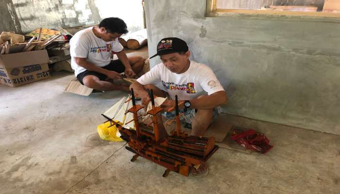 làng nghề đóng thuyền tại thành phố ILOILO Philippines