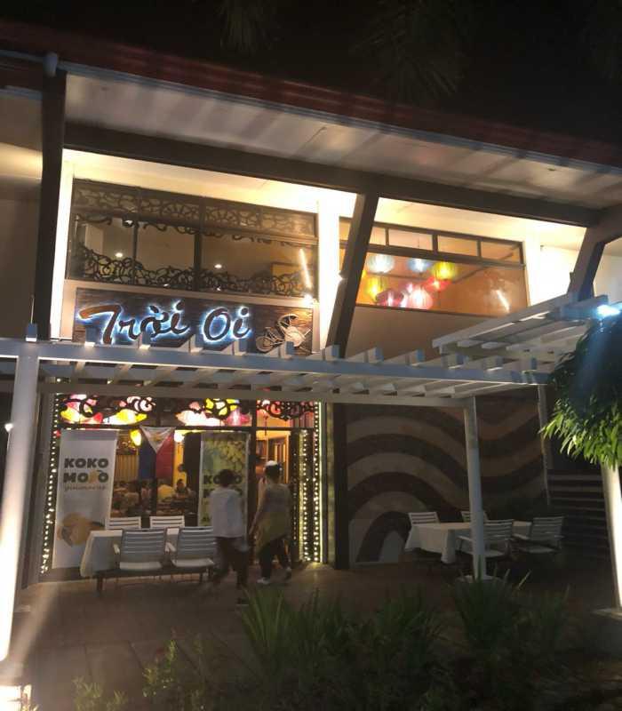 nhà hàng trời ơi tại thành phố ILOILO Philippines