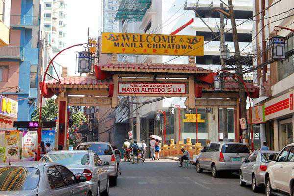 trung tâm chinatown philippines
