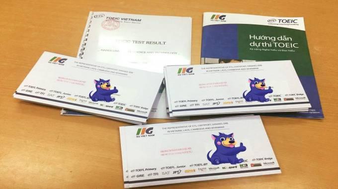 hồ sơ đăng ký thi TOEIC gồm những gì