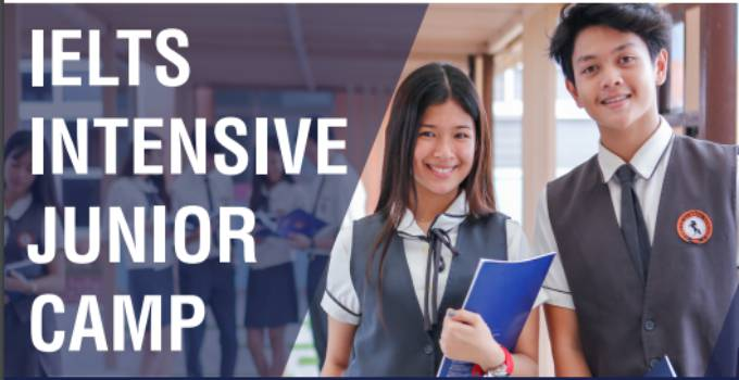 khóa học ielts intensive junior camp