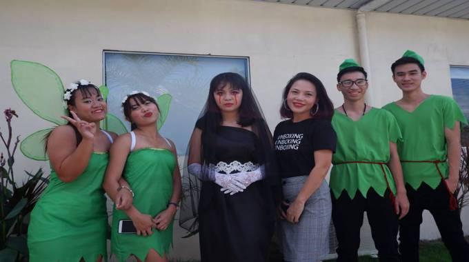 lẽ hội Halloween trường Anh ngữ C2 UBEC