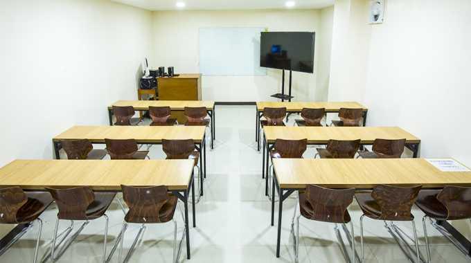 phòng học nhóm lớn của Main Campus của Pines