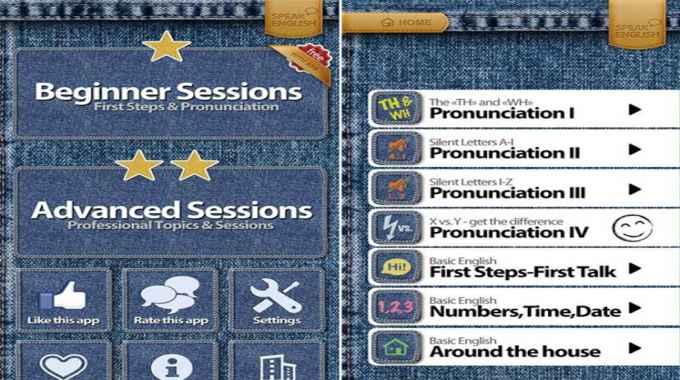 ứng dụng học tiếng Anh cấp tốc