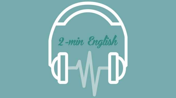 ứng dụng tiếng Anh two min english