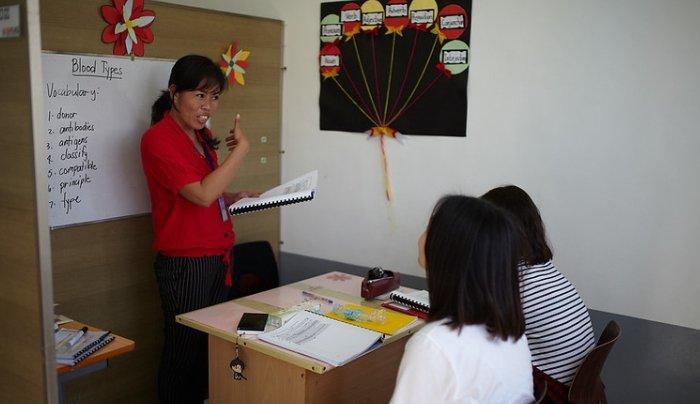 giáo viên trường anh ngữ philinter