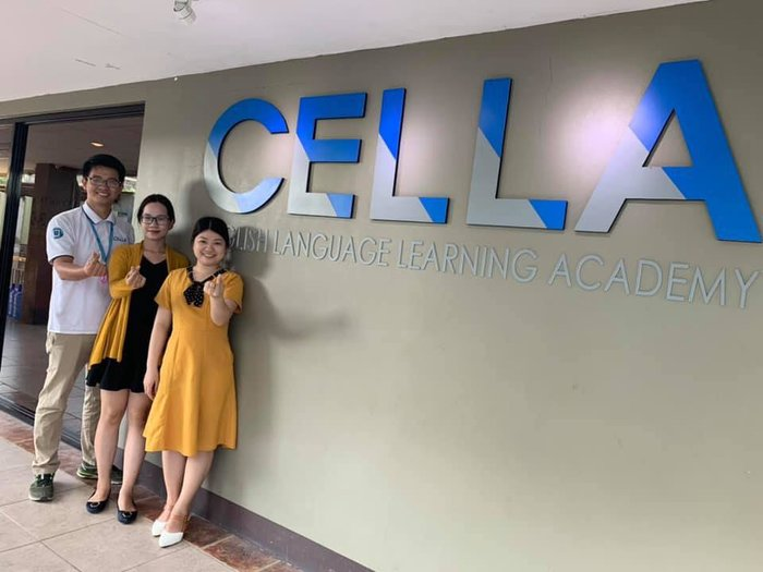 Mrs Hàn Thuỷ thăm trường Anh ngữ CELLA