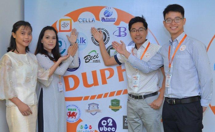 trường anh ngữ cella tham gia hội thảo du học Philippines hàng năm