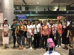 tiễn học viên du học philippines