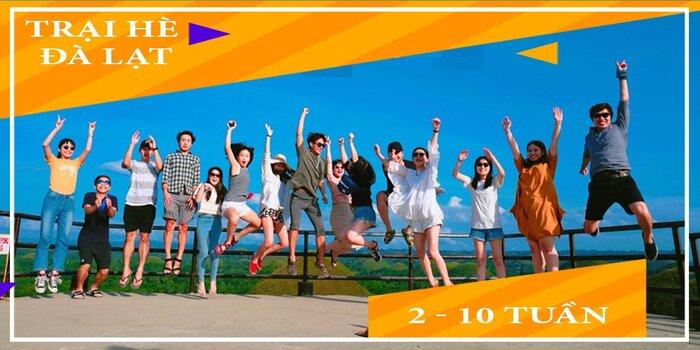 trại hè tiếng Anh Đà Lạt 2021